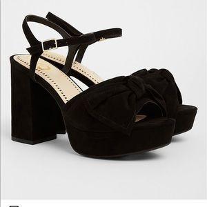 Sam Edelman Circus strappy bow heels 10W with box